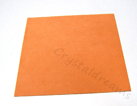 Tela de Ultrasuede 21,6 x21,6cm - Color: Orange Sherbert