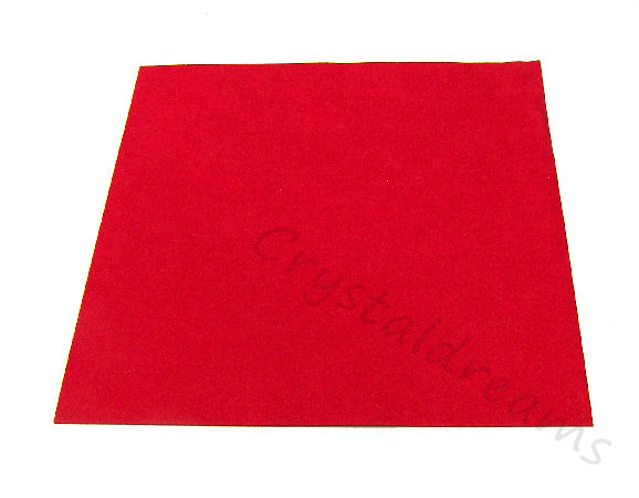 Tela de Ultrasuede 21,6 x21,6cm - Color: Scoundrel Red