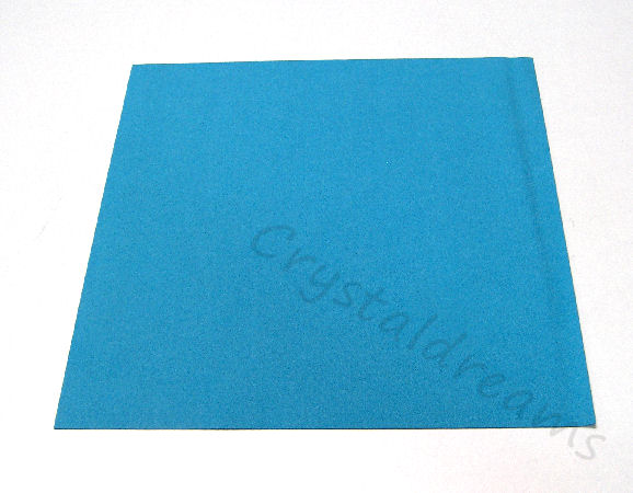 Tela de Ultrasuede 21,6 x21,6cm - Color: Splash Blue