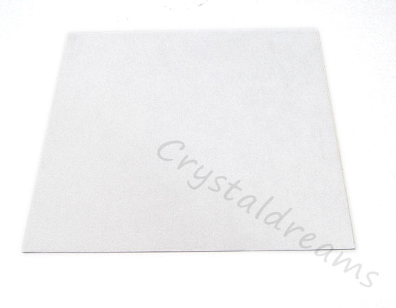 Tela de Ultrasuede 21,6 x21,6cm - Color: White