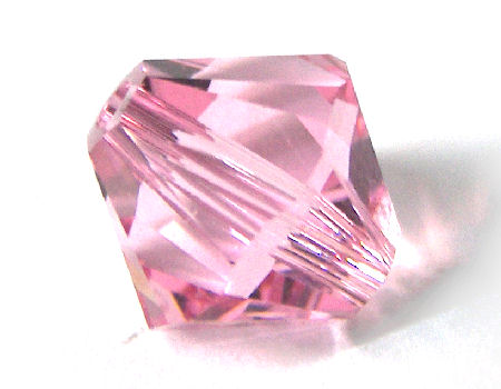 5328 8mm Swarovski Elements@ Light Rose