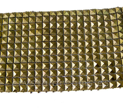 Tira de Tachuelas 200x95mm Old Golden Color - 288 piezas