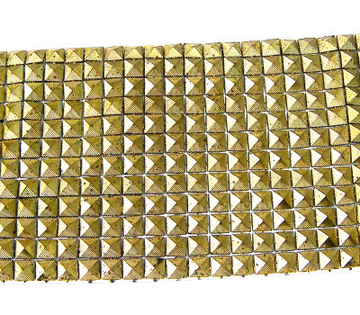 Tira de Tachuelas 200x95mm Golden Color - 288 piezas