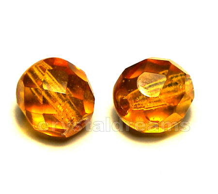 "Facetadas 6mm ""Topaz"""